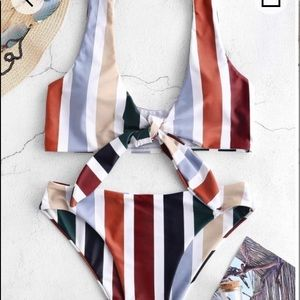 NWT Front Tie Bikini
